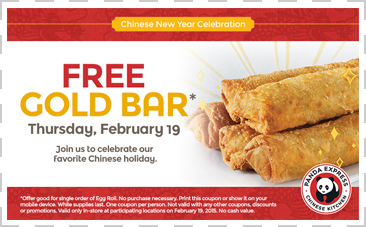 Panda Express Free Egg Roll