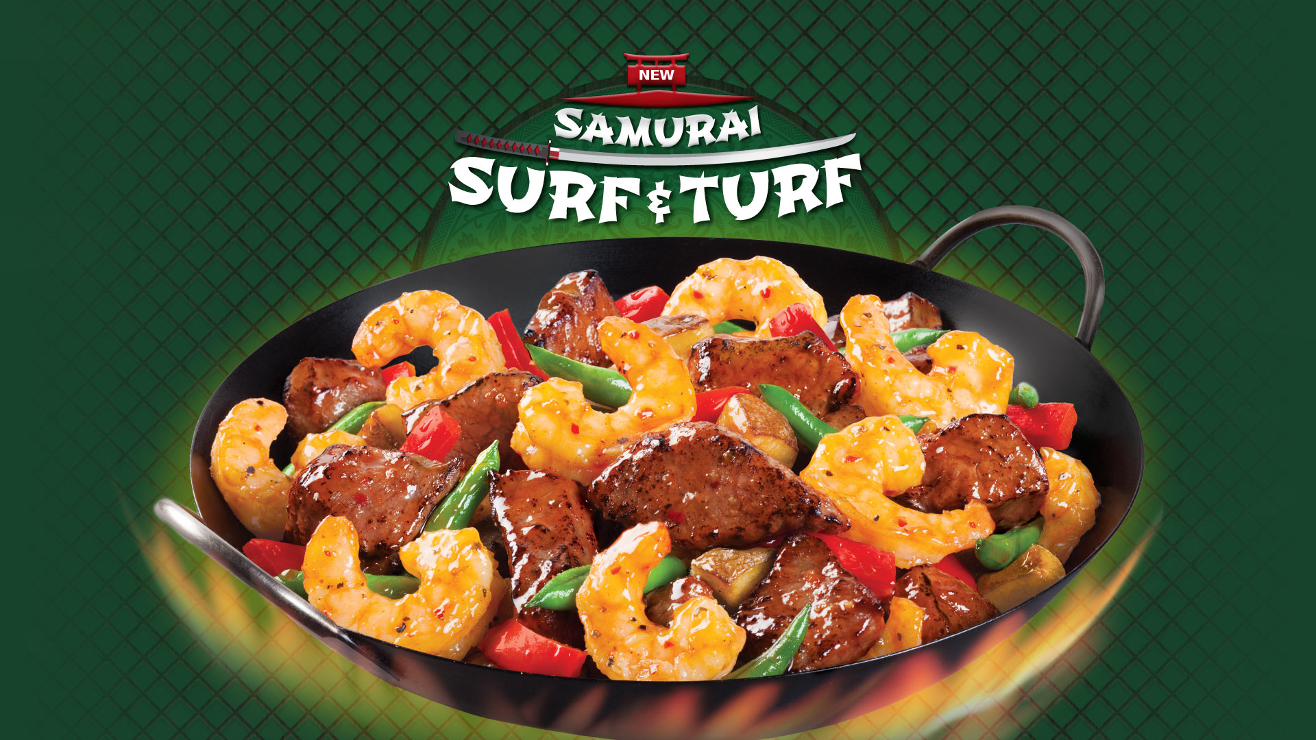 samurai surf and turf
