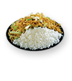 Chow Mein / White Steamed Rice