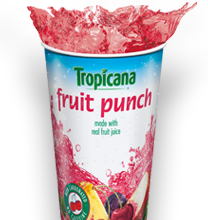 Panda Express Tropicana Fruit Punch