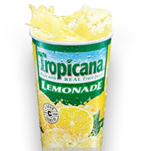 Panda Express Tropicana Lemonade