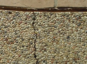 Before Coping Repair by Pool-Doctors Pool Cleaning in Orange County, Ca