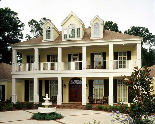 Luxurious contemporary plantation home design photos for Plantation home designs