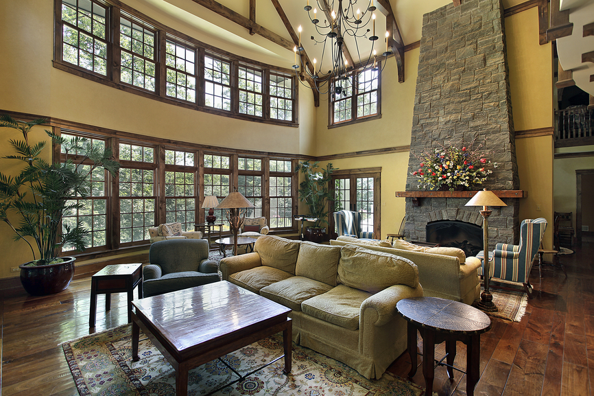 15 interior design ideas for big rooms that turns for Large family living room