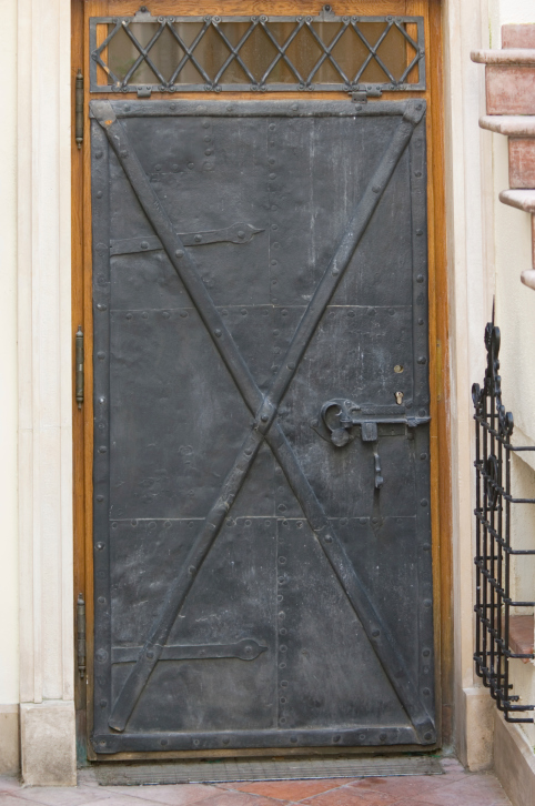 Attractive Steel Front Door