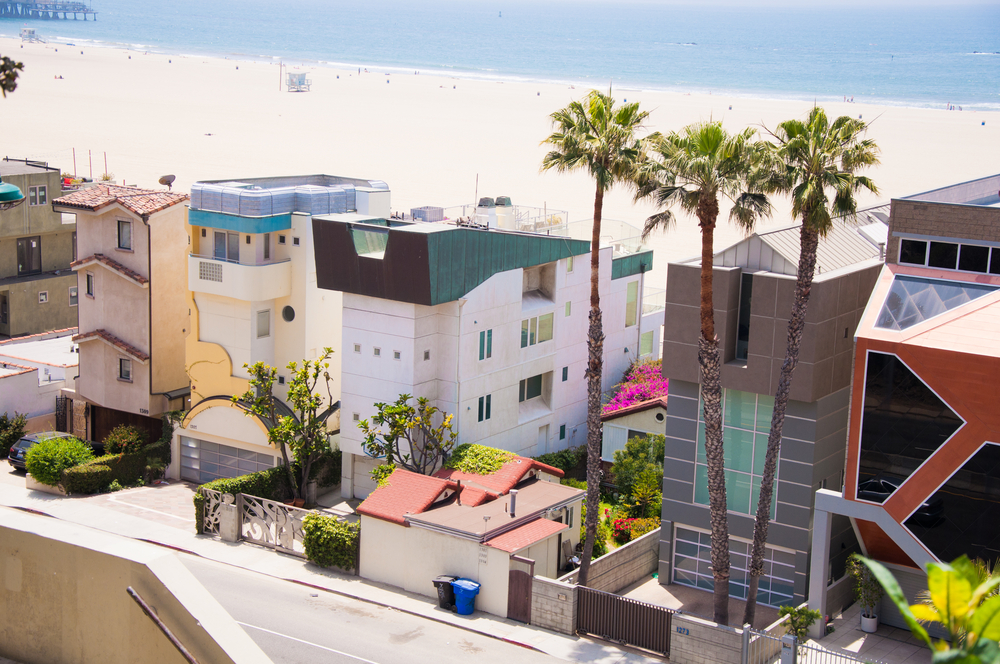 4 Malibu beach homes