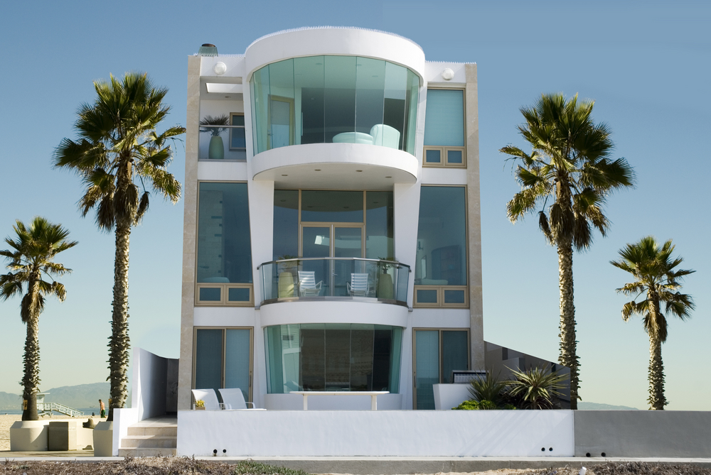 39 beach house designs from around the world photos for Modern house plans 3 story