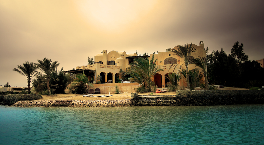 Beach villa in El Gouna, Egypt