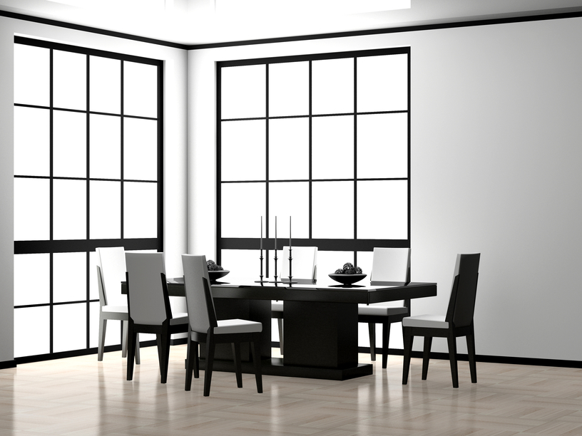 31 luxury dining room designs and pictures you can easily for Ultra modern dining room