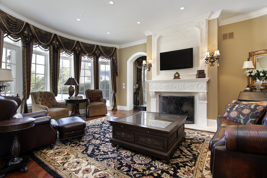47 luxury family room design ideas pictures Luxury fireplaces luxury homes