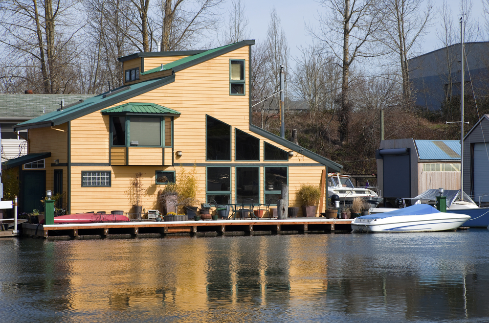 39 floating homes in seattle portland and vancouver photos Portland floating homes