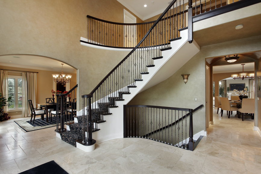 Foyer Staircase Kits : Entrance foyer design ideas for contemporary homes photos