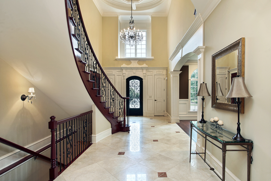 Two Story Entrance Foyer : Entrance foyer design ideas for contemporary homes photos