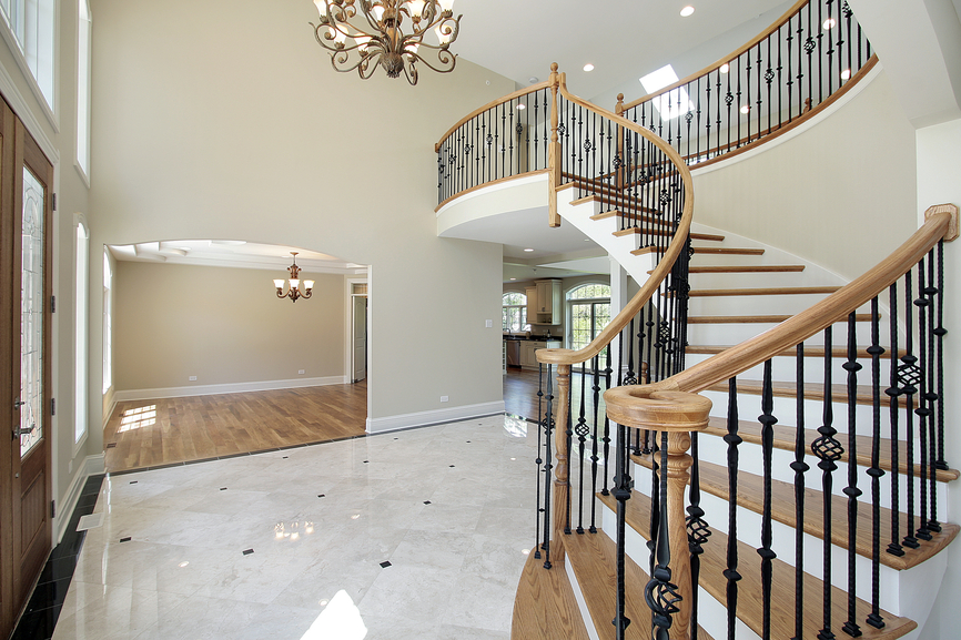 Foyer Designs With Stairs : Entrance foyer design ideas for contemporary homes photos