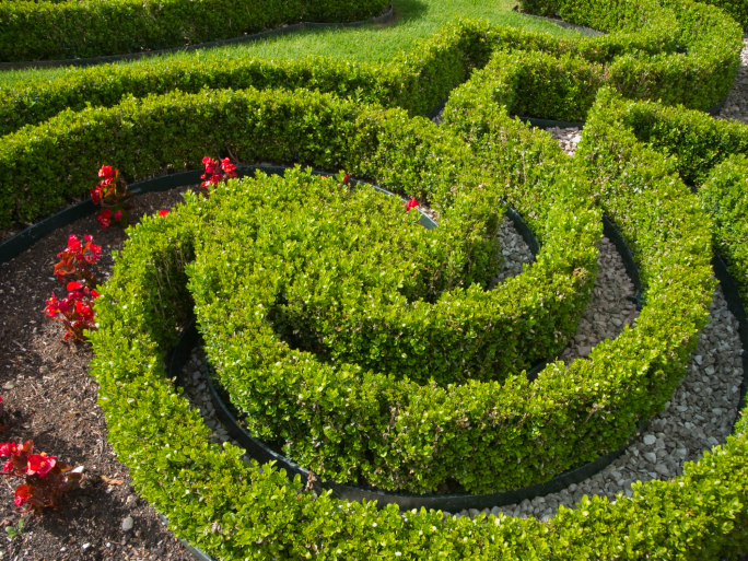 Labyrinth Designs Garden garden maze portugal europe Spiral Garden Maze Design