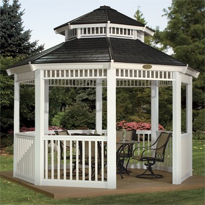 Double Roof or Tiered Roof Gazebo
