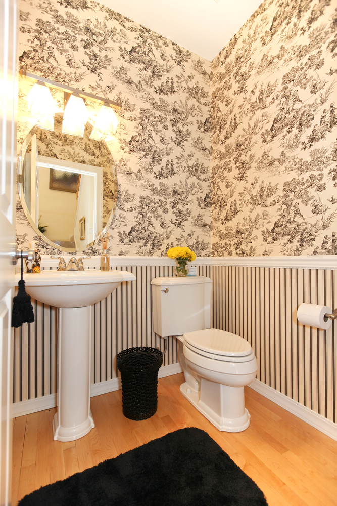 28 Half Bathroom Designs Some Are Cleverly Designed