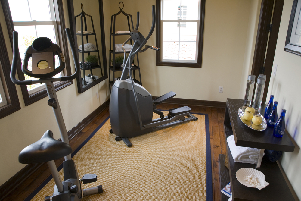 27 luxury home gym design ideas for fitness buffs Living room gym