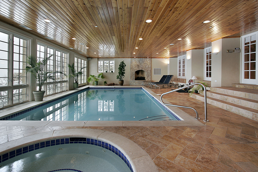 Log Home Plans With Indoor Pool House Design Plans