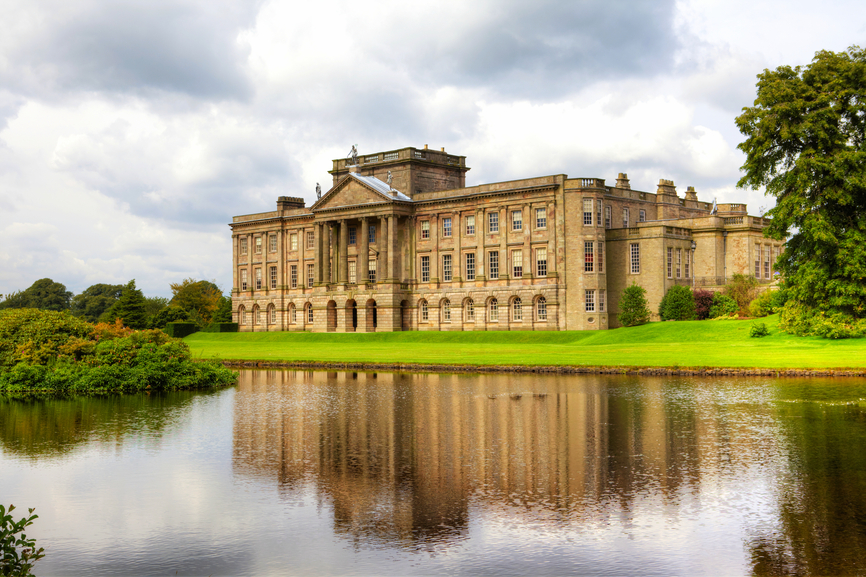 Lyme Hall in Cheshire, England