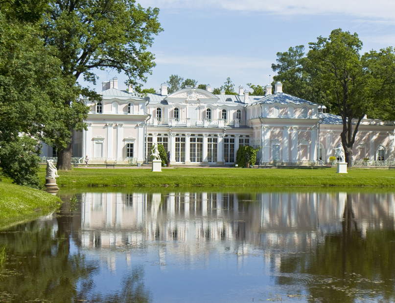 Russian White Palace in Oraniebaum