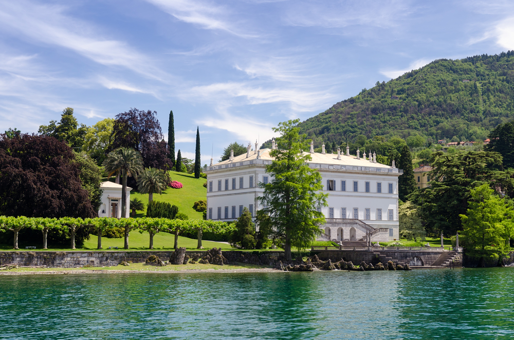 Famous Villa Melzi on Lake Como