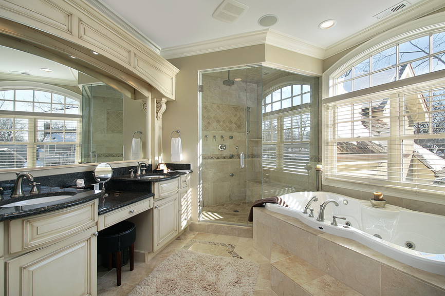127 luxury bathroom designs part 3 for Luxury master bath designs