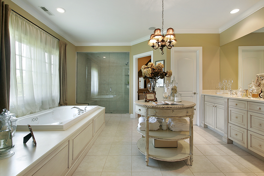 127 luxury custom bathroom designs for Large luxury bathrooms