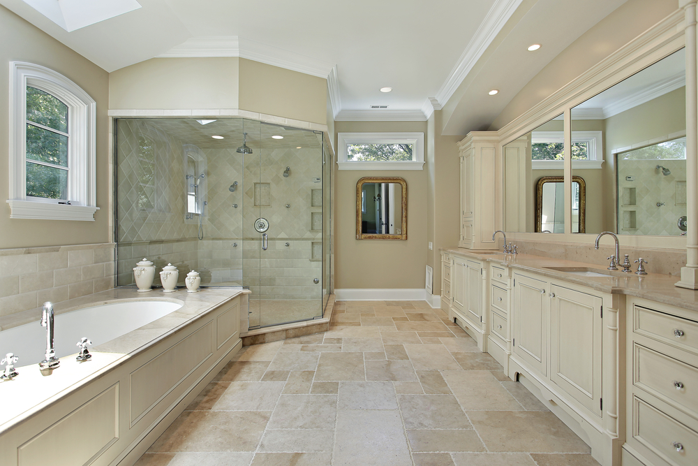 127 luxury bathroom designs part 2 for Bathroom designs for big bathrooms