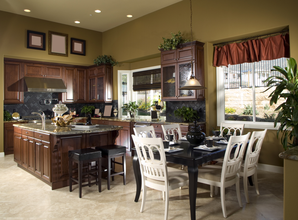 Open Concept Kitchen Living Room Color Scheme ...