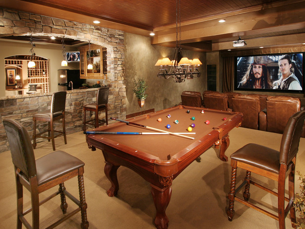 Man Cave With Pool Table And Bar : Of the best man cave ideas to create in house get away