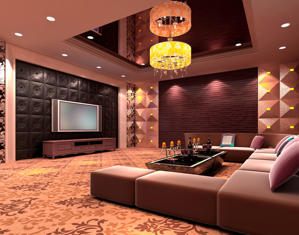 for the las vegas lovers the above man cave offers glitz and glam in