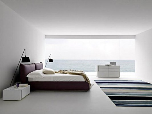 Wow 101 sleek modern master bedroom ideas 2018 photos for Minimalist bedding ideas