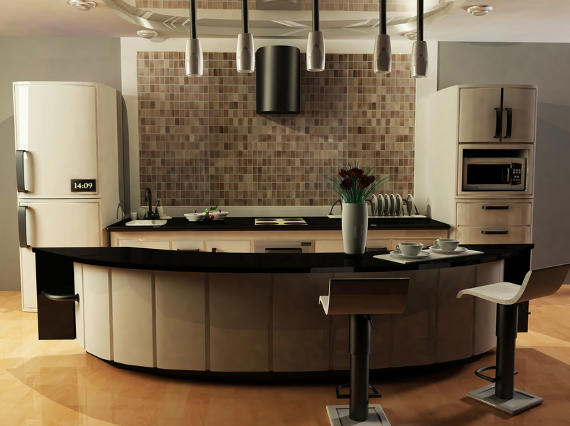 Expensive Kitchen Design Ideas ~ Modern custom luxury kitchen designs photo gallery