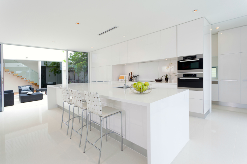 Modern White Kitchen Design 104 modern custom luxury kitchen designs (photo gallery) | home