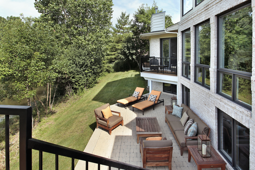 Better Homes And Gardens Outdoor Furniture Cushions 88 Outdoor Patio Design Ideas (BRICK, FLAGSTONE, COVERED PATIOS & MORE ...