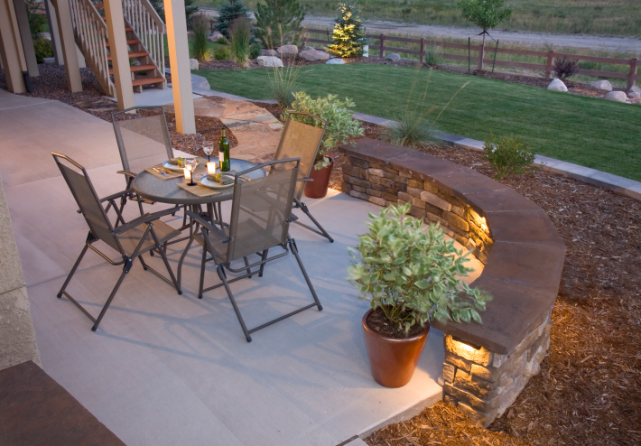88 Outdoor Patio Design Ideas BRICK FLAGSTONE COVERED