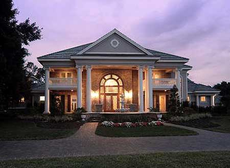 40 plantation home designs historical contemporary for Luxury plantation home plans