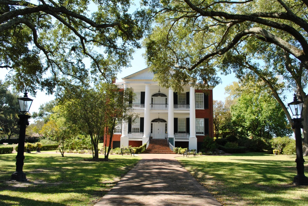 Rosalie Mansion in Natchez, Mississippi