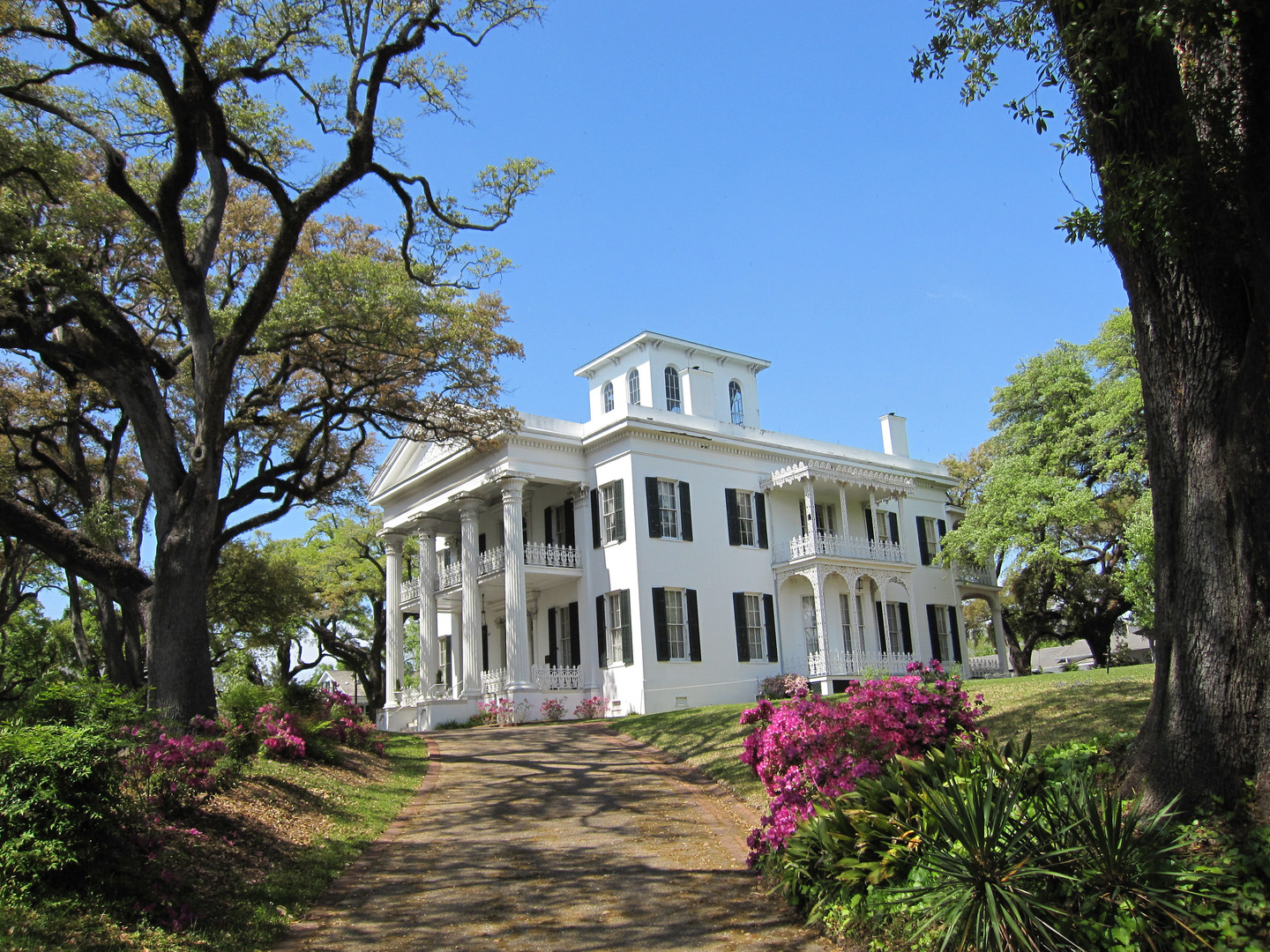 Stanton Hall Plantation Home in Natchez, Mississippi