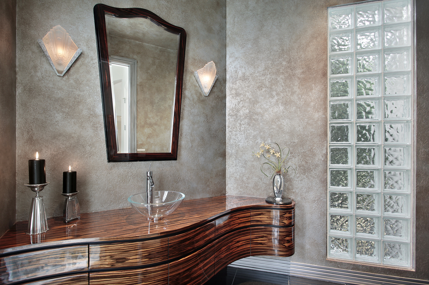 ... designed powder rooms. Get detailed powder room decorating ideas here