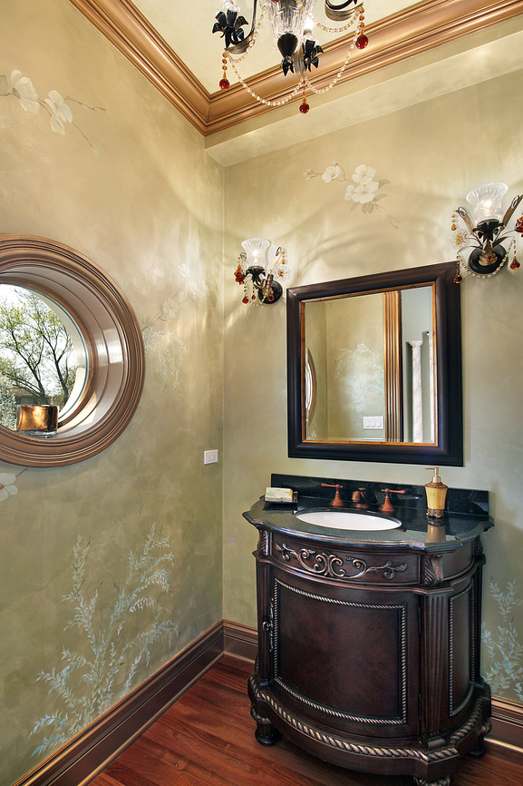 30 Powder Room Decorating Ideas (Photo Gallery)