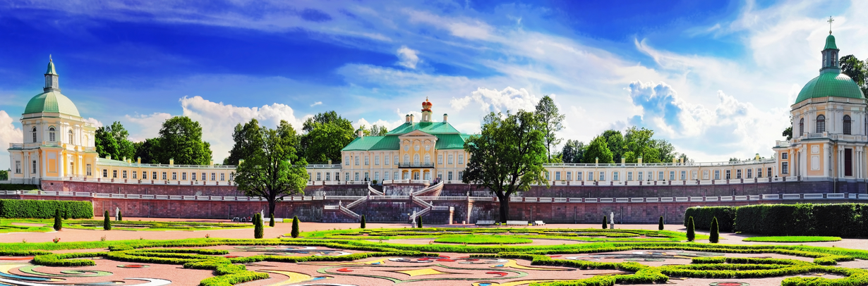 Panarama view of Menshikov Palace
