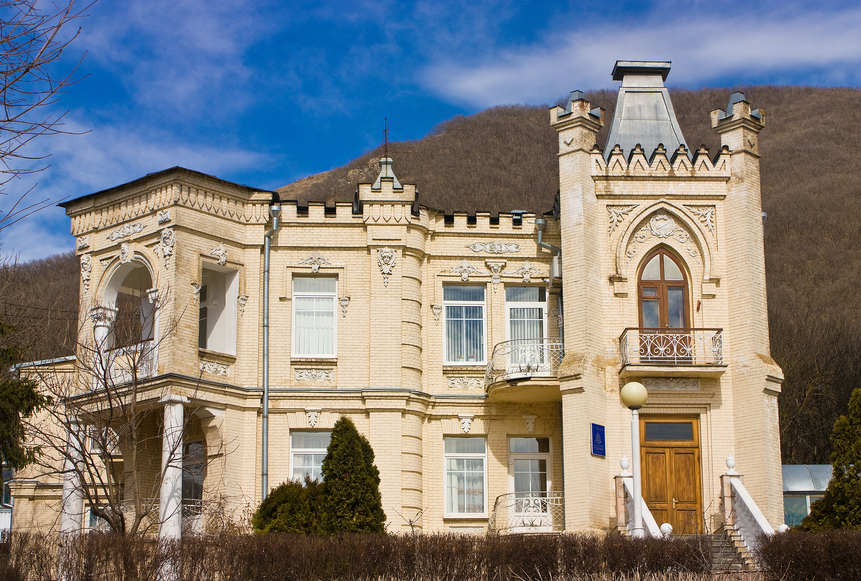 Old Russian manor home in Pyatigorsk, Caucasus