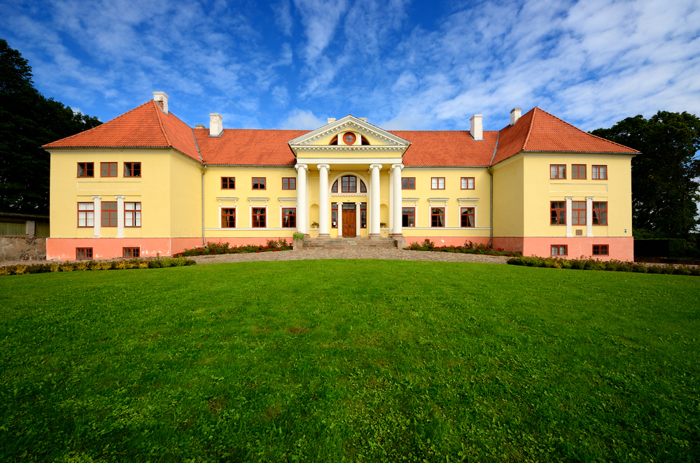 Durbes Castle in Latvia