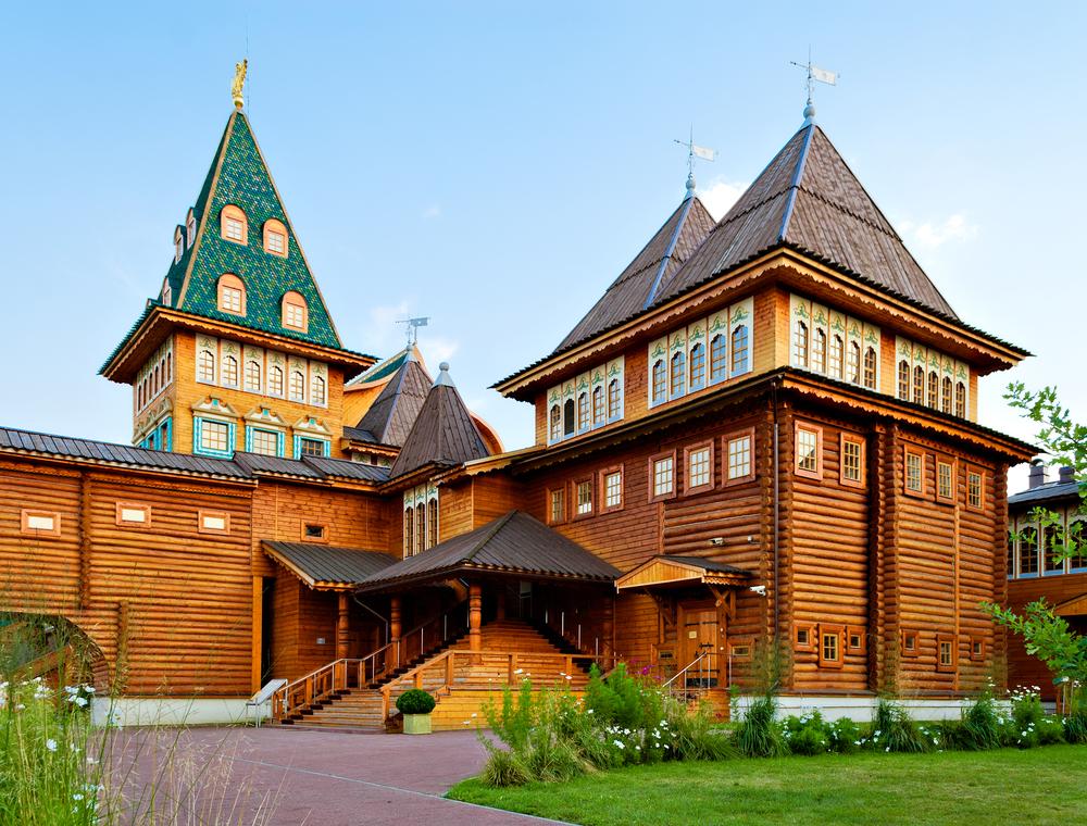 Wooden palace of Tsar Aleksey Mikhailovic Kolomenskoye