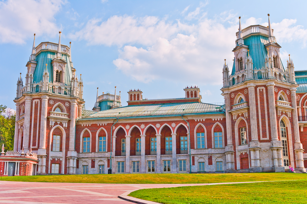 Grand Palace in Tsaritsyno