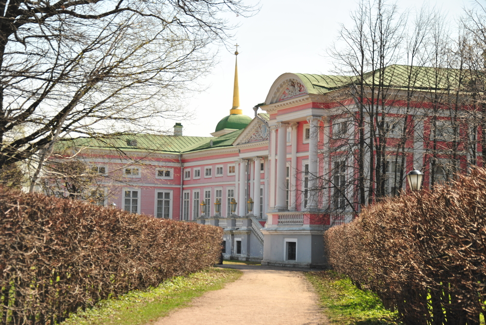 Side view of Russian Palace