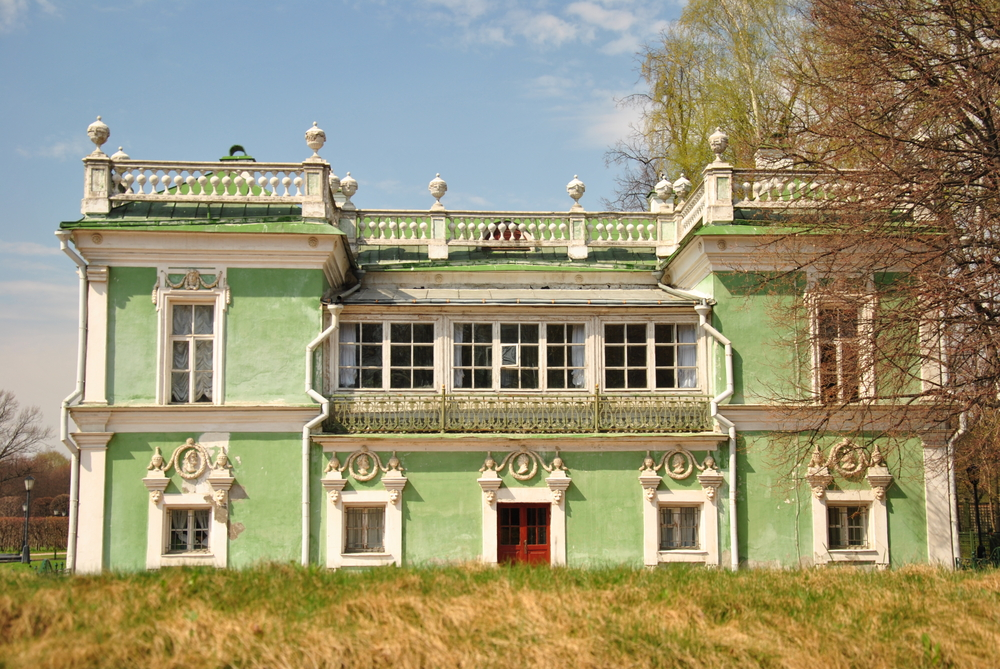 Russian count's manor home