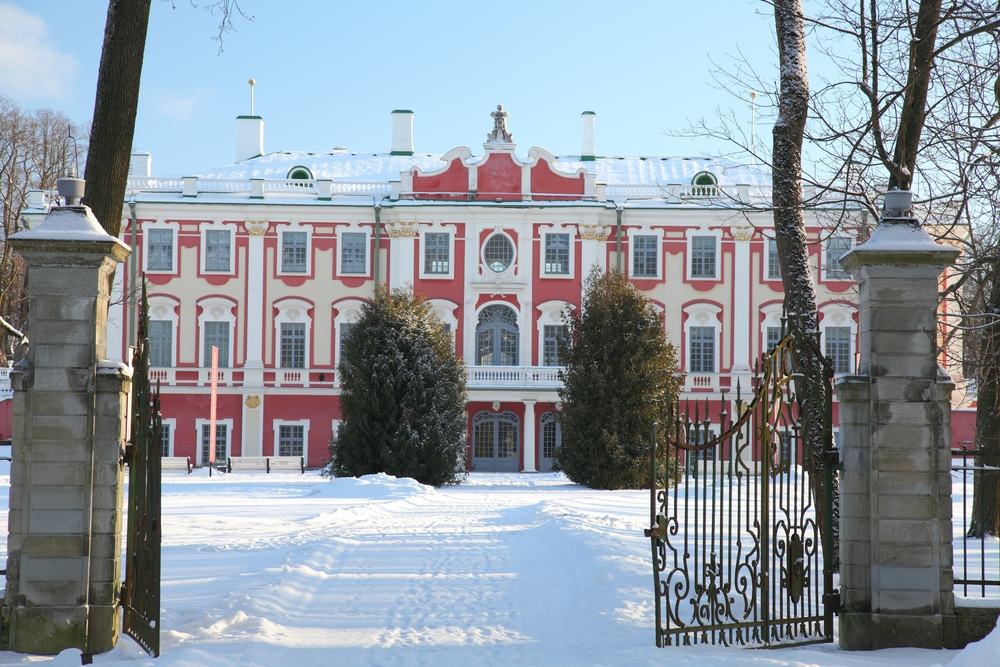 Palace in Kadriorg, Estonia